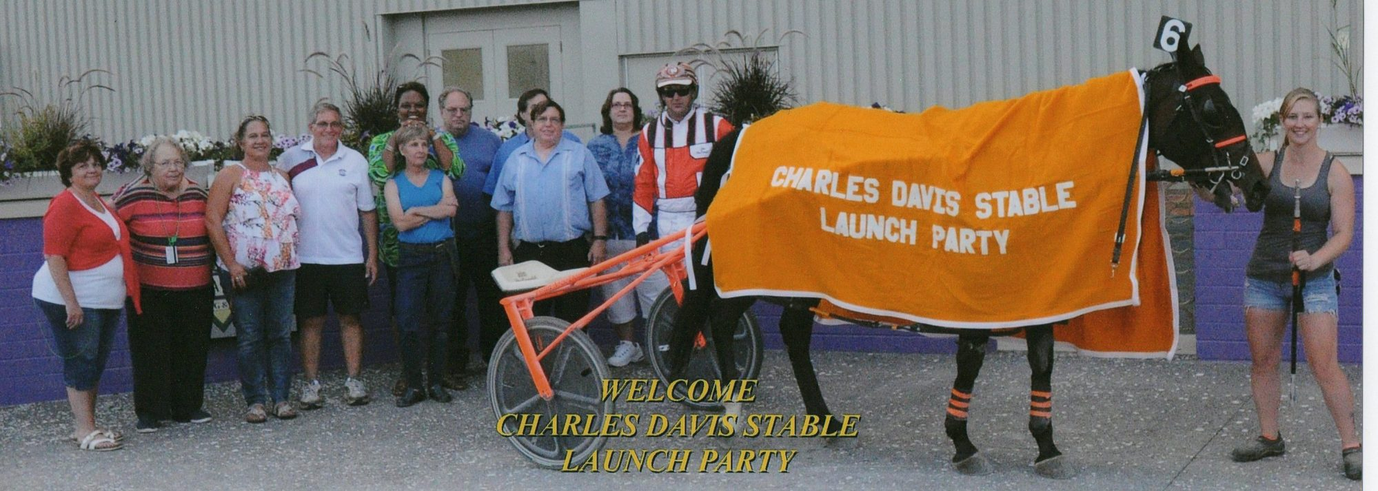 The New Charles Davis Stables